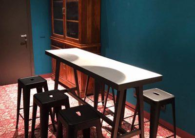 ristrutturazione pavimentazione bar